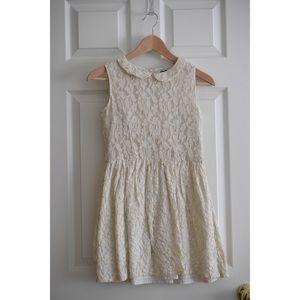 Mini Boden Goldflex Lace Dress